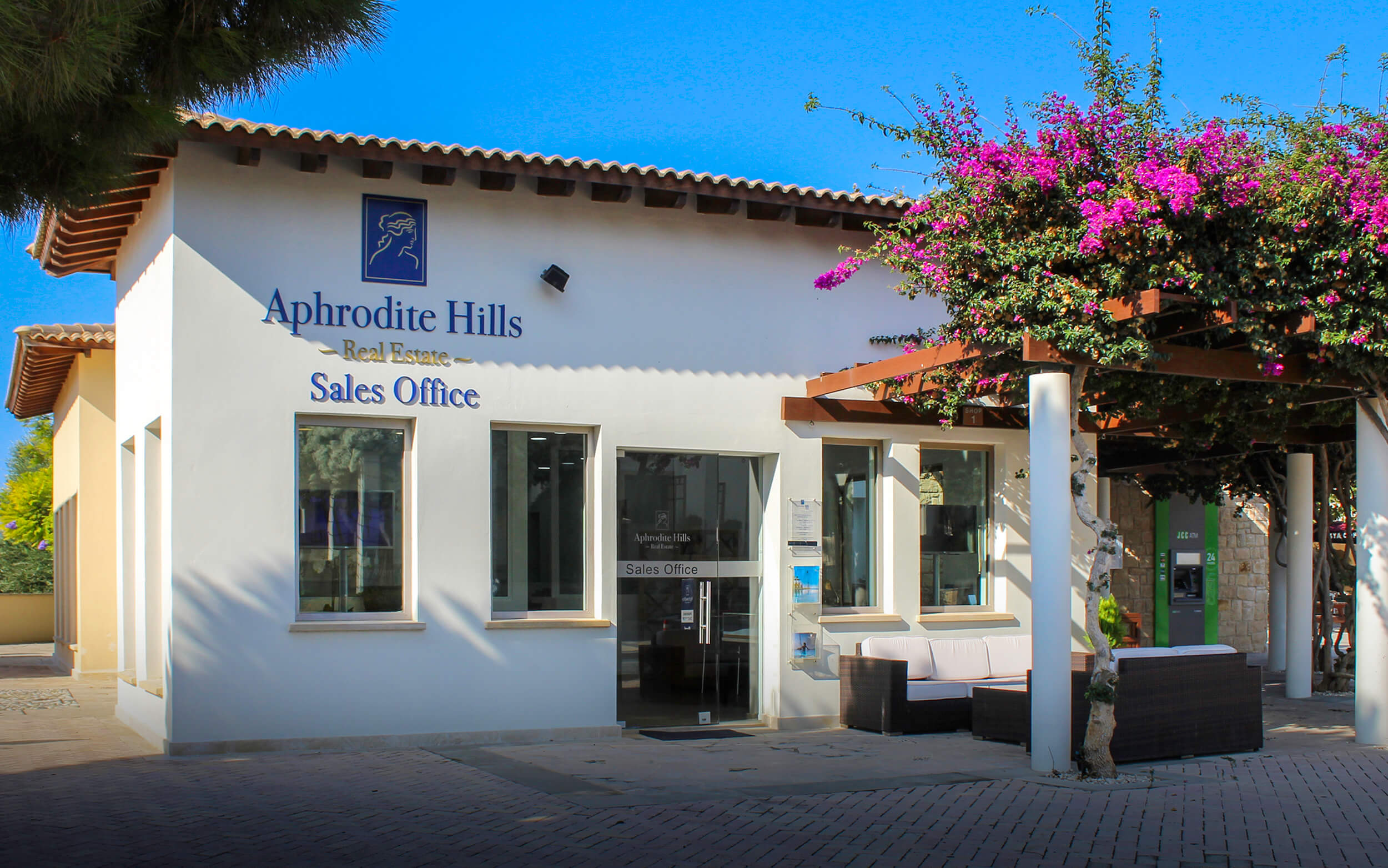aphrodite hills property sales office